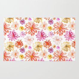 Painted Floral I Rug