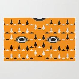 Pine trees- ethnic pattern Rug