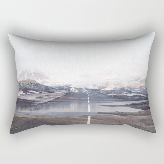 The Broken Way Rectangular Pillow