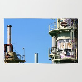 Oil Refinery Rug