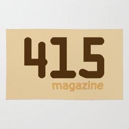 415 Magazine Logo Rug