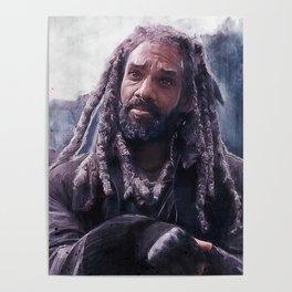King Ezekiel Of The Kingdom - The Walking Dead Poster
