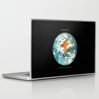 earth Laptop & iPad Skins featuring Earth by Terry Fan