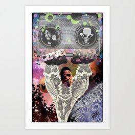 RADIO RAHEEM DIVINE Art Print
