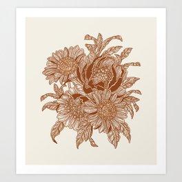 Overgrown 7 Art Print