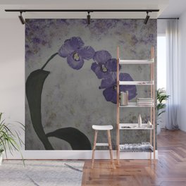 Orchids on a Stem Wall Mural