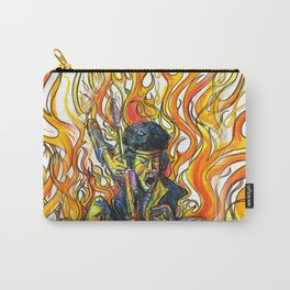 Rock and Flames Carry-All Pouch