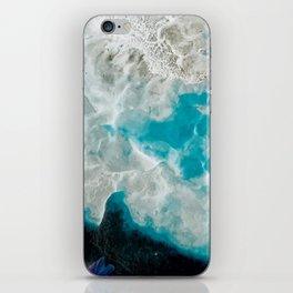 Bracket Fungi in Blue iPhone Skin