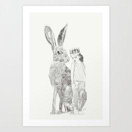 A Bigger World Art Print