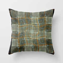 Intricate Paths Throw Pillow