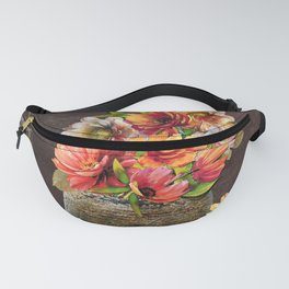 Two Stone Vases Fanny Pack