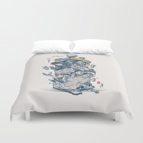CAN CNTRL Duvet Cover