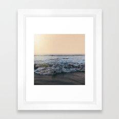 Sunrise Ocean Framed Art Print