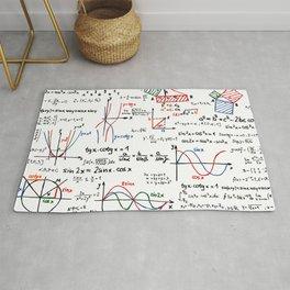 Math Cheat Sheet Rug