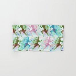 Watercolor women runner pattern Hand & Bath Towel