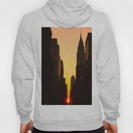 Manhattanhenge along 42nd Street NYC Hoody