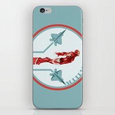 iron man and F22 raptor  iPhone & iPod Skin