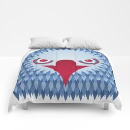 Geometric Eagle Comforters