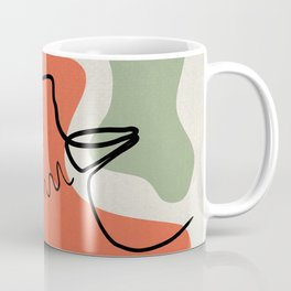 Emotions - Abstract Faces Coffee Mug