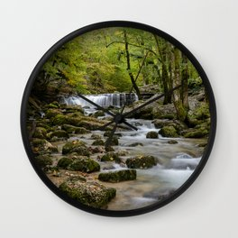 Herisson River Wall Clock