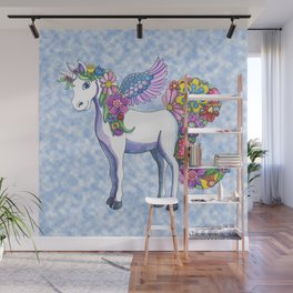 Madeline the Magic Unicorn 2 Wall Mural