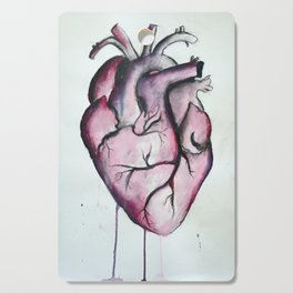 Anatomical Heart Cutting Board