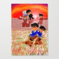 conan Canvas Prints featuring Detective Conan by Black Wing