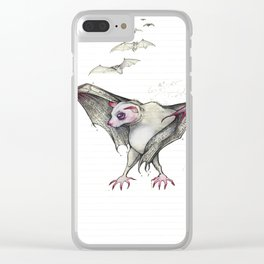 Count Calcula Clear iPhone Case