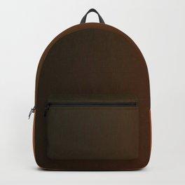 Color gradient – orange and black Backpack