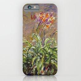 Claude Monet - Hemerocallis iPhone Case