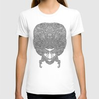 afro T-shirts featuring AFRO by varvar2076