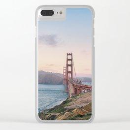 San Francisco Golden Gate Bridge Clear iPhone Case