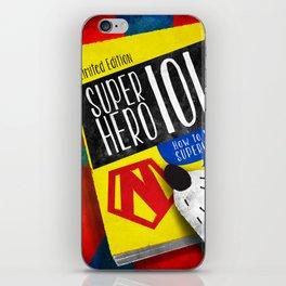 SuperHero 101 iPhone Skin