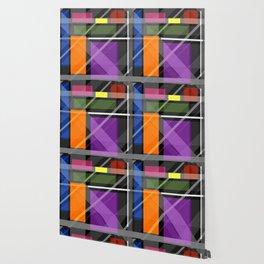 Crossing Shapes Wallpaper