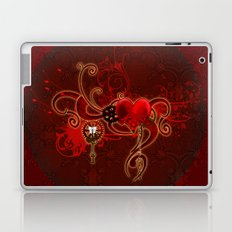 Steampunk, wunderful heart Laptop & iPad Skin