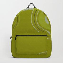 grren three maca Backpack