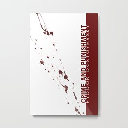 the classics .. blood splatter Metal Print