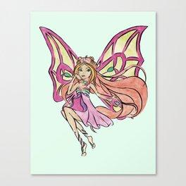 Winx Club Flora Canvas Print