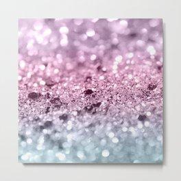 Unicorn Girls Glitter #7 #shiny #pastel #decor #art #society6 Metal Print