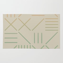 Geometric Shapes 11 Gradient Rug