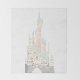 Castle 4 Throw Blanket