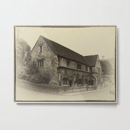 Masonic Lodge Bradford on Avon Metal Print