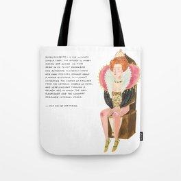 Queen Elizabeth I Tote Bag