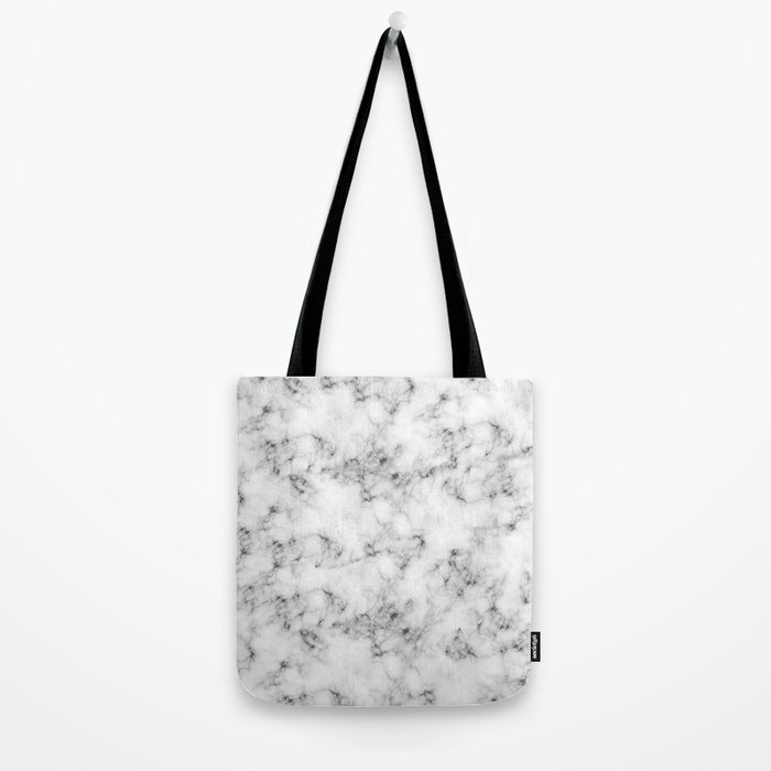 Real Marble Tote Bag