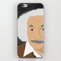 einstein iPhone & iPod Skins featuring Einstein by @NealCampbell