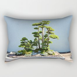 Forest Island Rectangular Pillow
