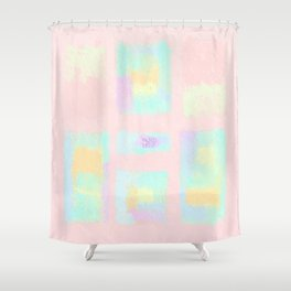 LIGHTNESS #6 Shower Curtain
