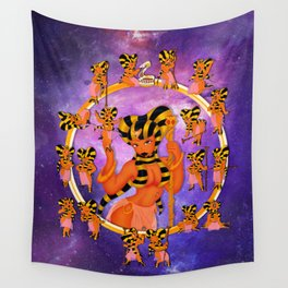 Queen 2 Chibi Set Wall Tapestry