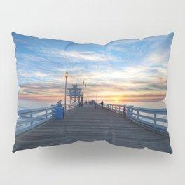 Calm evening on the quay Pillow Sham