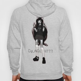 GRUNGE KITTY Hoody